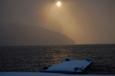 十和田湖 冬の光