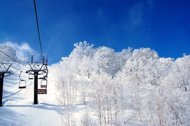 2009年2月2日 安比スキー場にて