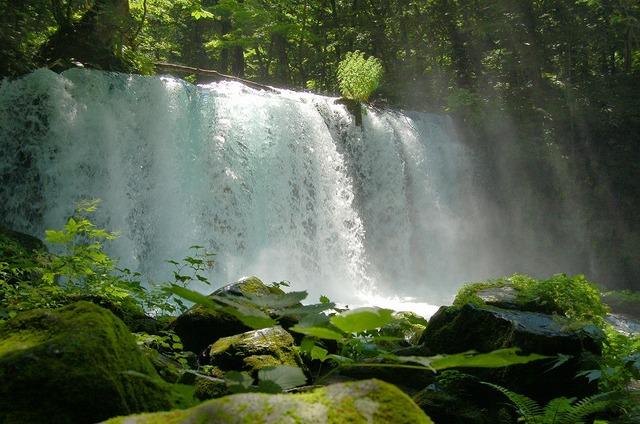 十和田湖 銚子の滝