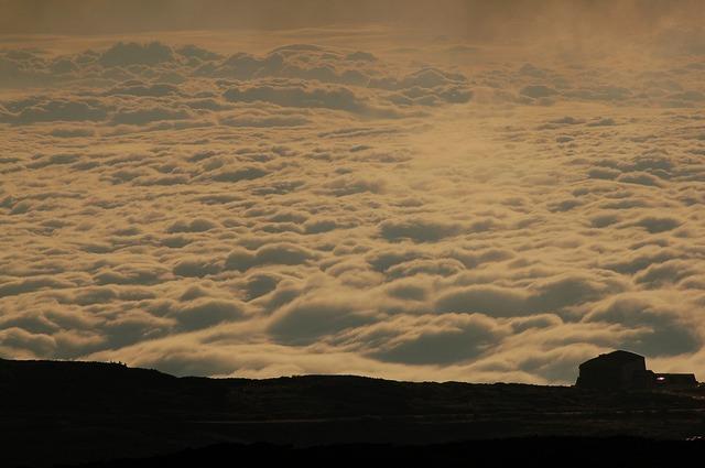 室堂から見た雲海
