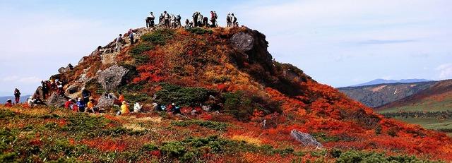 三石山山頂