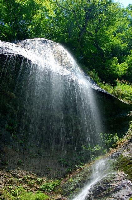 沢内 白糸の滝